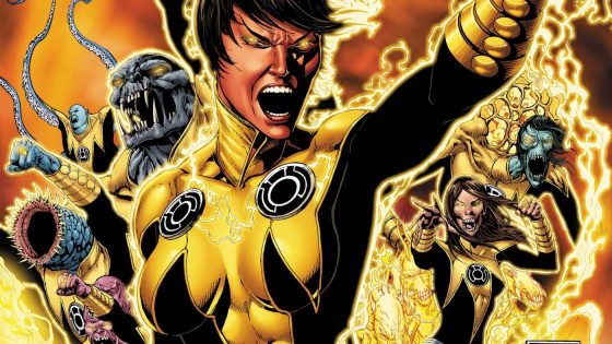 With the Yellow Lantern Corps calling for the head of Tomar Tu, it's up to Hal, John and the crew to prevent all out war between the two groups.