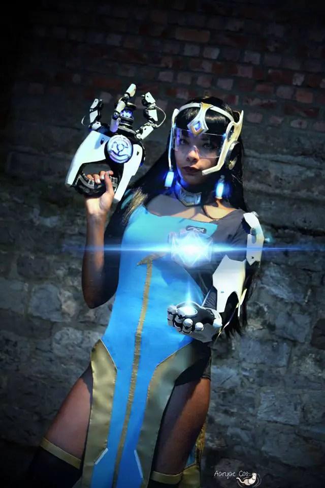 Overwatch: Symmetra Cosplay by Aaryae