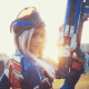 Overwatch: Soldier: 76 Cosplay by Kate Sarkissian