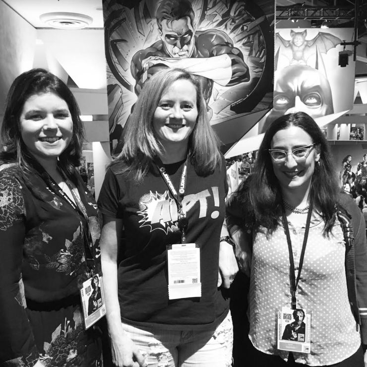 A conversation with 'Shade, the Changing Girl's Cecil Castellucci and Marley Zarcone at SDCC 2017