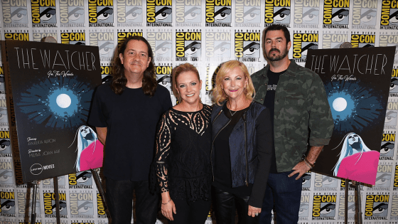 SDCC 2017: A seventeen-year journey to the retelling of 'The Watcher in the Woods.'