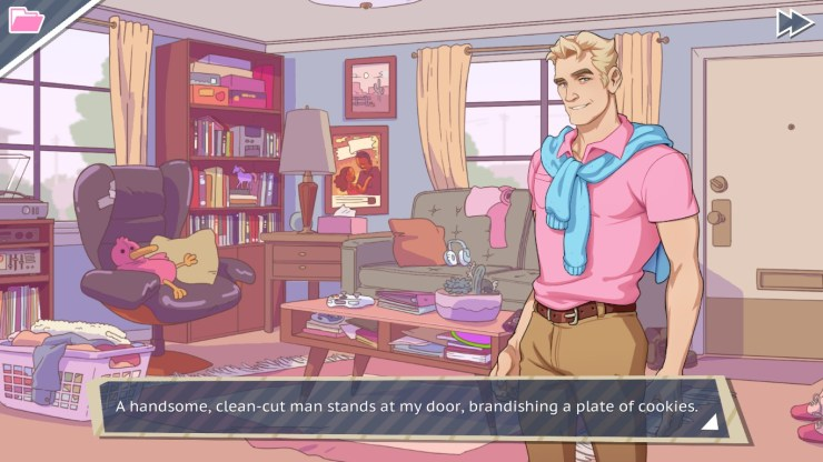 Father-Father Bonding: A Review of 'Dream Daddy: A Dad Dating Simulator'