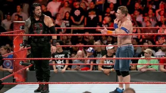 John Cena vs. Roman Reigns made official for WWE No Mercy