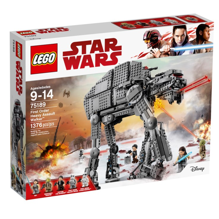 "LEGO is unleashing all-new Star Wars: The Last Jedi sets for ""Force Friday II"""