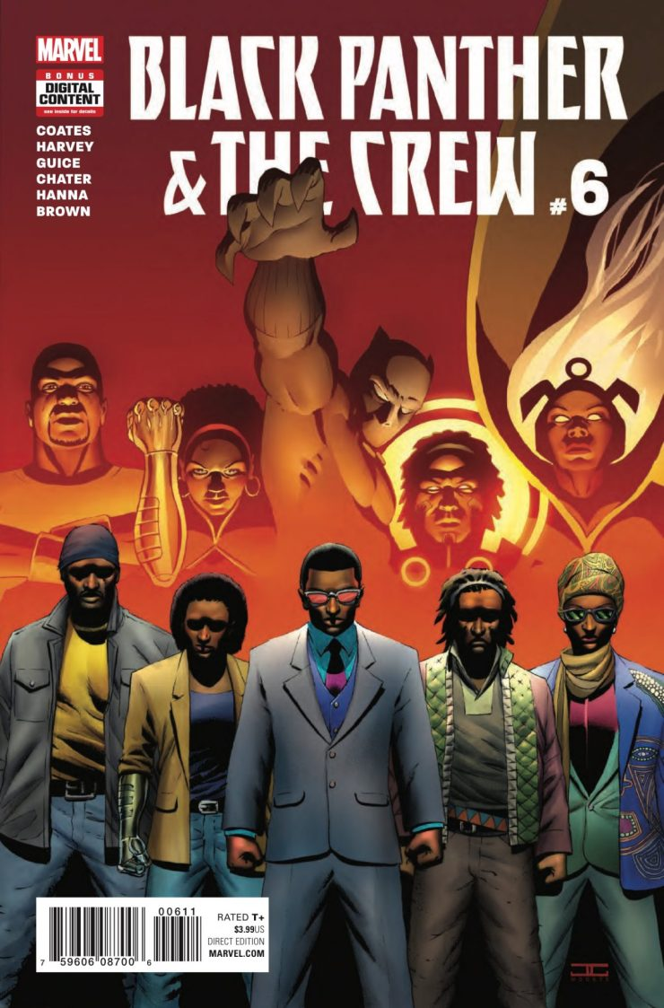 Marvel Preview: Black Panther & The Crew #6