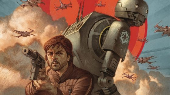 Cassian Andor is one of the top intelligence agents in the ranks of the Rebel Alliance, ably assisted by his reprogrammed Imperial security droid, K-2SO. But naturally, the two weren't always on the same side of the Galactic Civil War. * Now, for the first time, read the story of the pair's first contentious meeting! It is very likely not to go well.