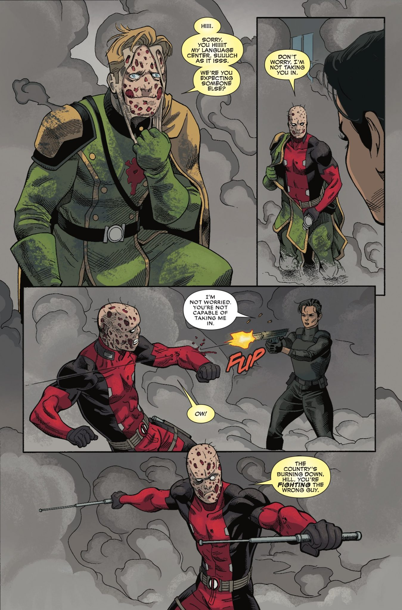 Deadpool #35 Review