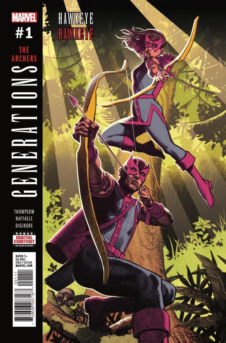 Marvel Preview: Generations: Hawkeye & Hawkeye #1