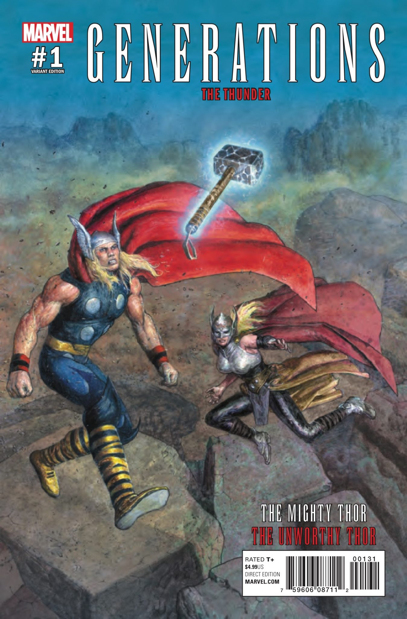 Generations: Unworthy Thor & The Mighty Thor #1 Review