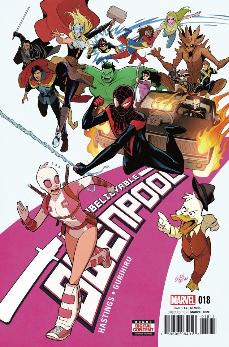Marvel Preview: The Unbelievable Gwenpool #18