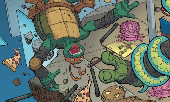Teenage Mutant Ninja Turtles: Dimension X #1 Review