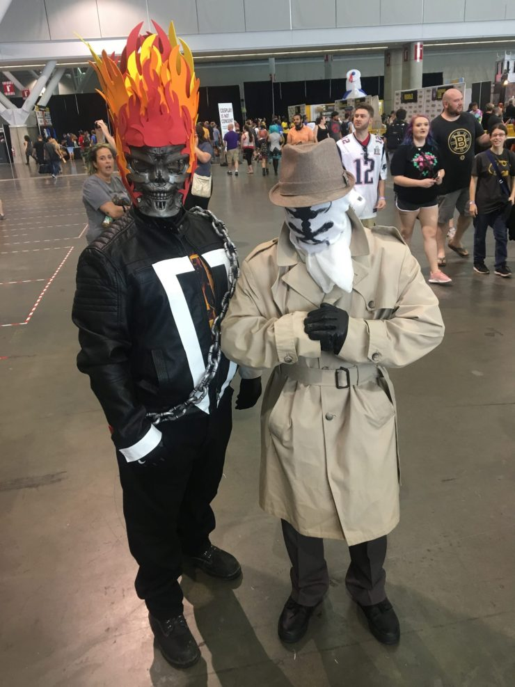 The best comic-related cosplay we saw at Boston Comic Con 2017