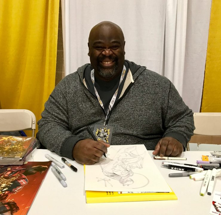 [Interview] X-Men: Gold artist Ken Lashley explains the evolution of his style at Boston Comic Con