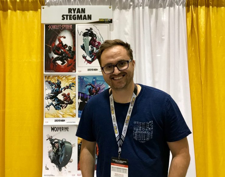 [Interview] Spider-Man artist Ryan Stegman talks characters he wants to draw and more at Boston Comic Con 2017