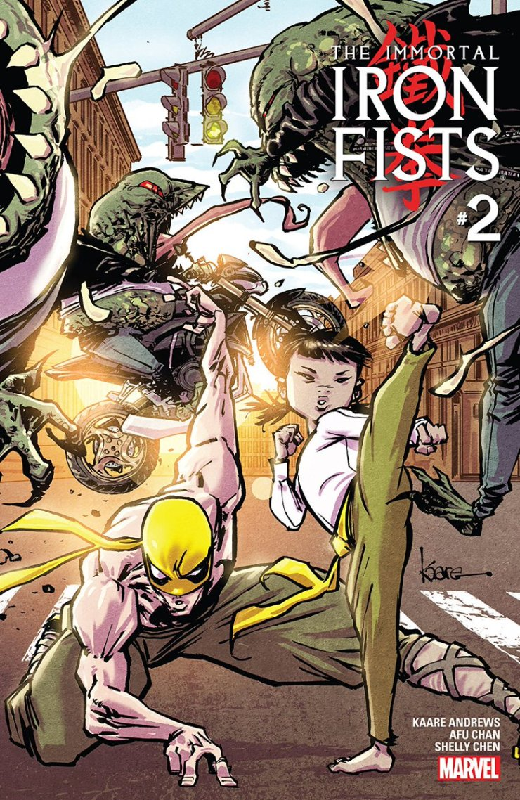 The Immortal Iron Fists #1 and 2 Review