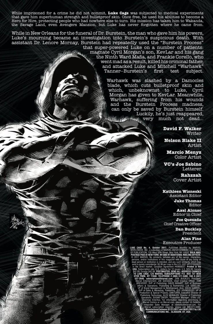 Marvel Preview: Luke Cage #4