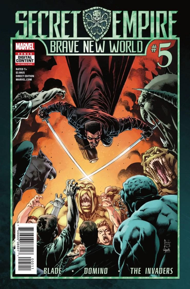 Marvel Preview: Secret Empire: Brave New World #5
