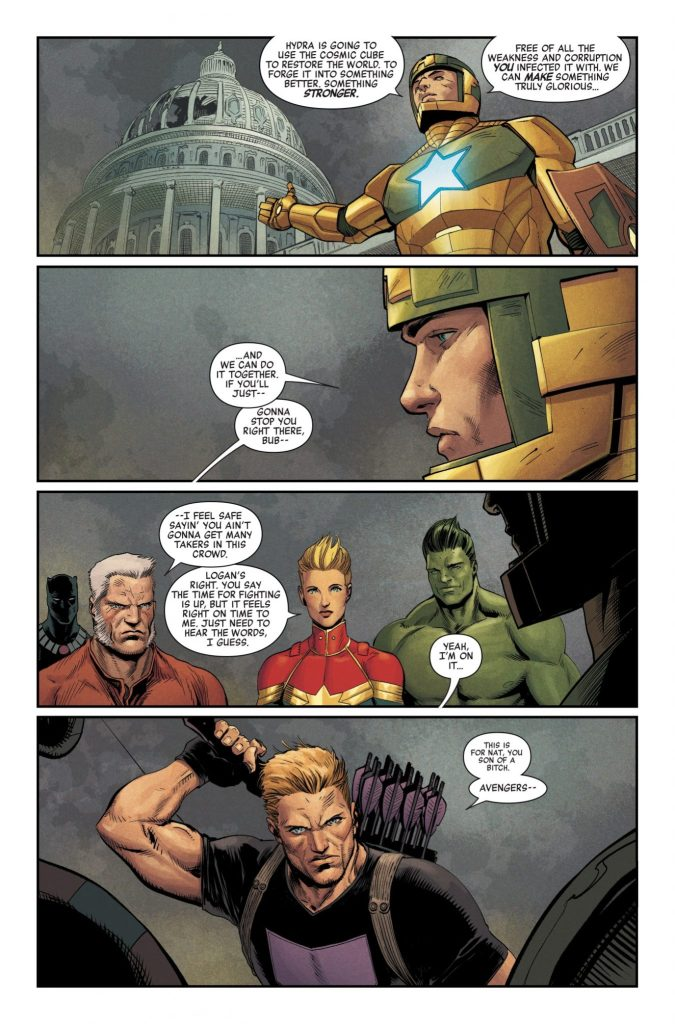 Marvel Preview: Secret Empire #10
