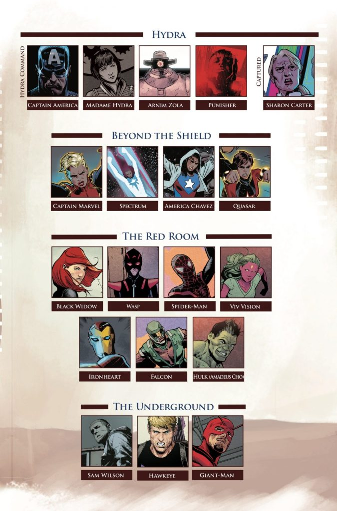 Marvel Preview: Secret Empire #8