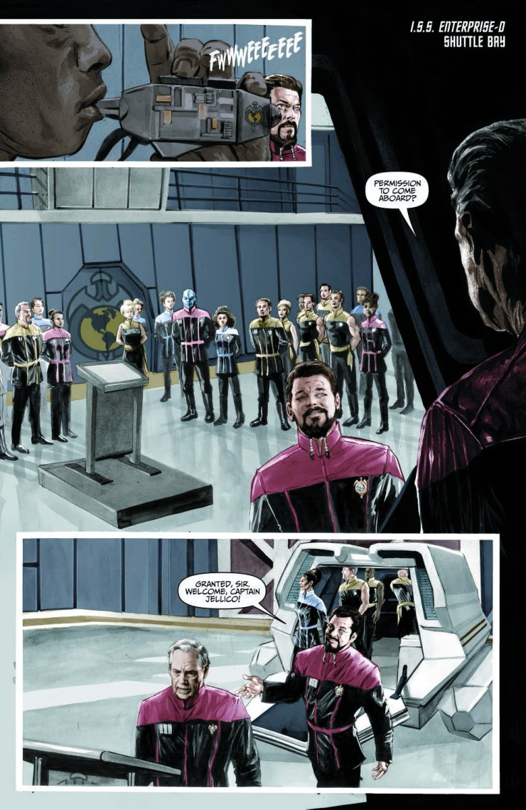 Star Trek the Next Generation: Mirror Broken #3 Review