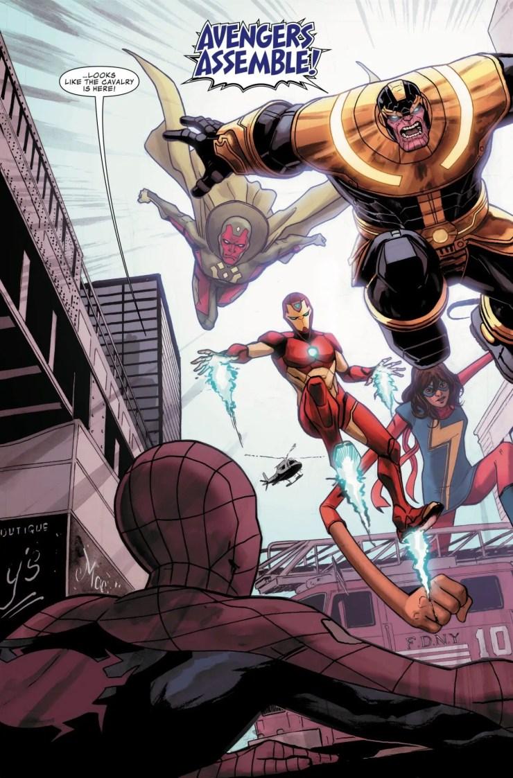 Thanos #10 Review