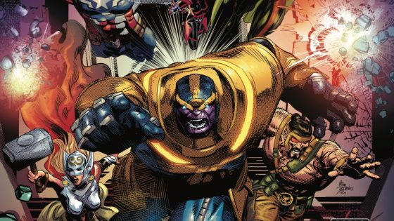 Thanos is an Avenger. Let that sink in!