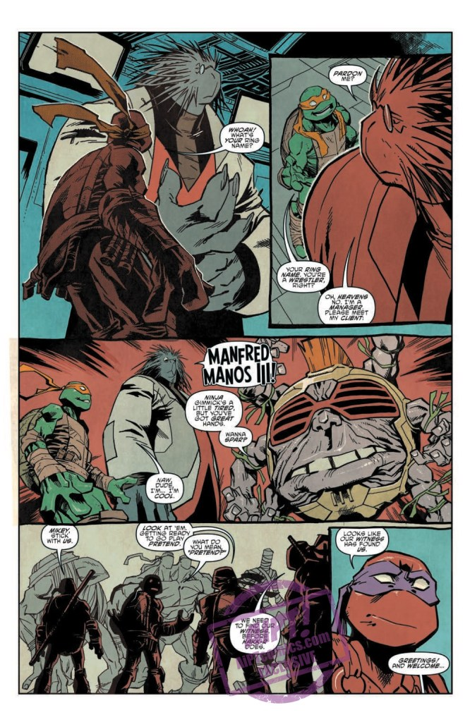 [EXCLUSIVE] IDW Preview: Teenage Mutant Ninja Turtles: Dimension X #3