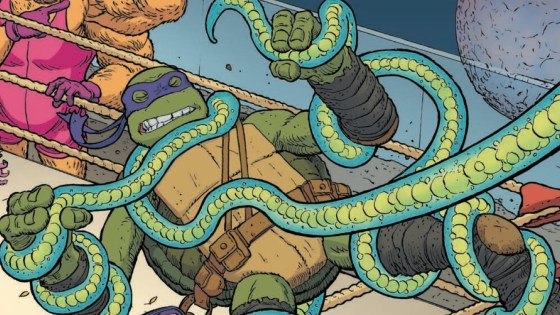 The TMNT land on a planet of criminals and lowlifes.