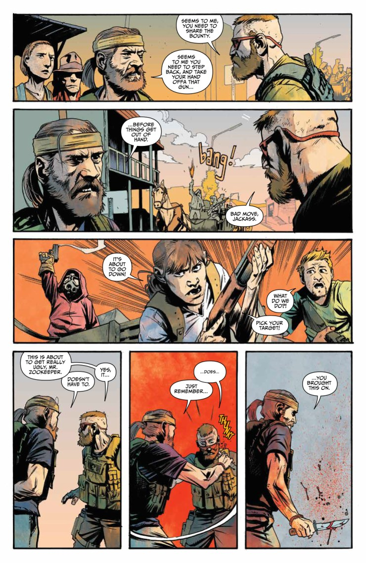 War for the Planet of the Apes #2 Review
