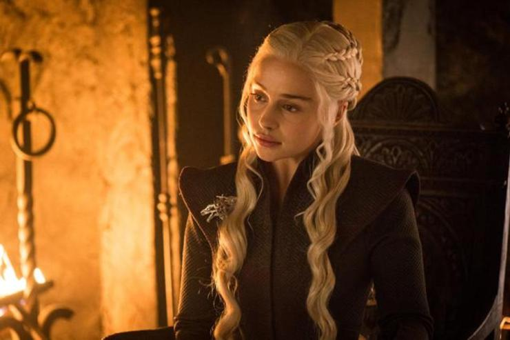 "Emilia Clarke on filming Daenerys Targaryen's final scene in 'Game of Thrones': ""It fucked me up"""