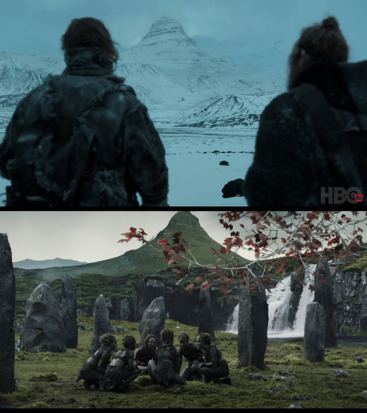 Game of Thrones: Jon Snow and crew are approaching an important mountain we've seen before in S7, Episode 6