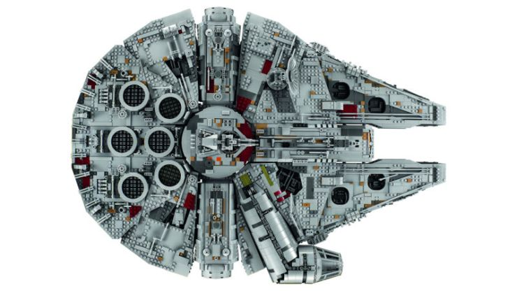 This Ultimate Collector Series Millennium Falcon LEGO set is incredible - and will set you back $800