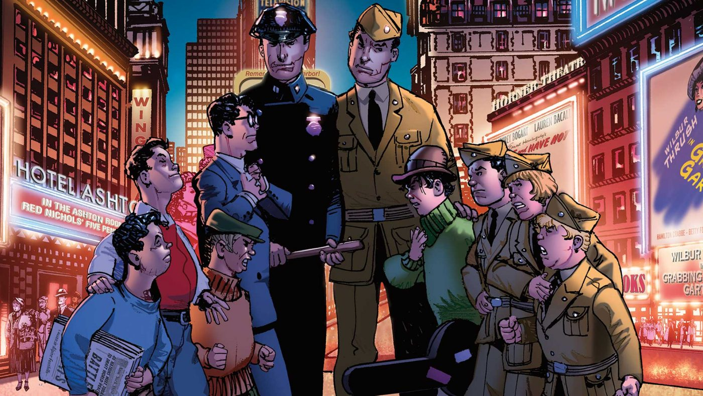 The Newsboy Legion And The Boy Commandos Special #1 Review