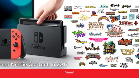 Nintendo's Nindies Direct 2017 will showcase the lineup of Indie games coming to the Switch