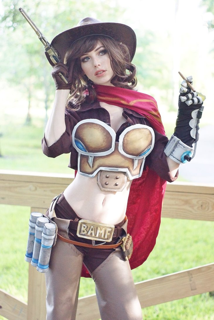 Overwatch: McCree Cosplay by Megan Coffey