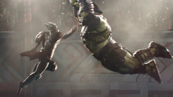 'It's main event time': New footage of Hulk vs. Thor from 'Thor: Ragnarok'
