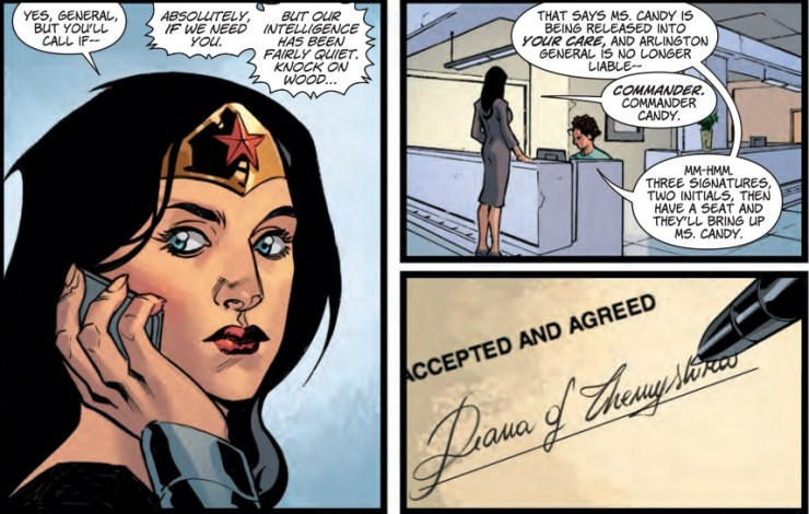 Wonder Woman #28 Review