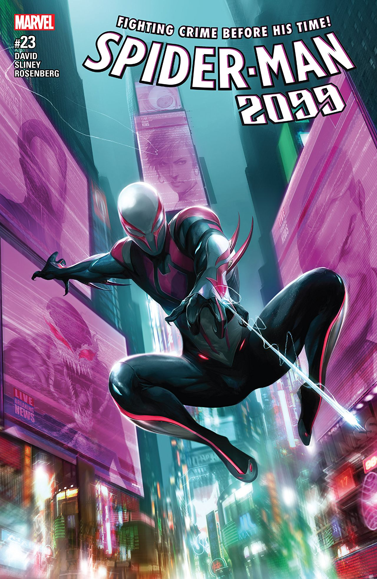 A fitting farewell: 'Spider-Man 2099 Vol. 7: Back to the Future, Shock!' review