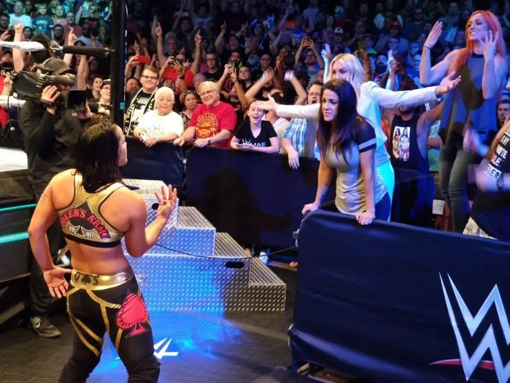Kairi Sane wins the inaugural WWE Mae Young Classic