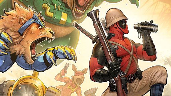 Discover an eclectic mix of comedy: 'Deadpool Classic Vol. 19: Make War, Not Love' review