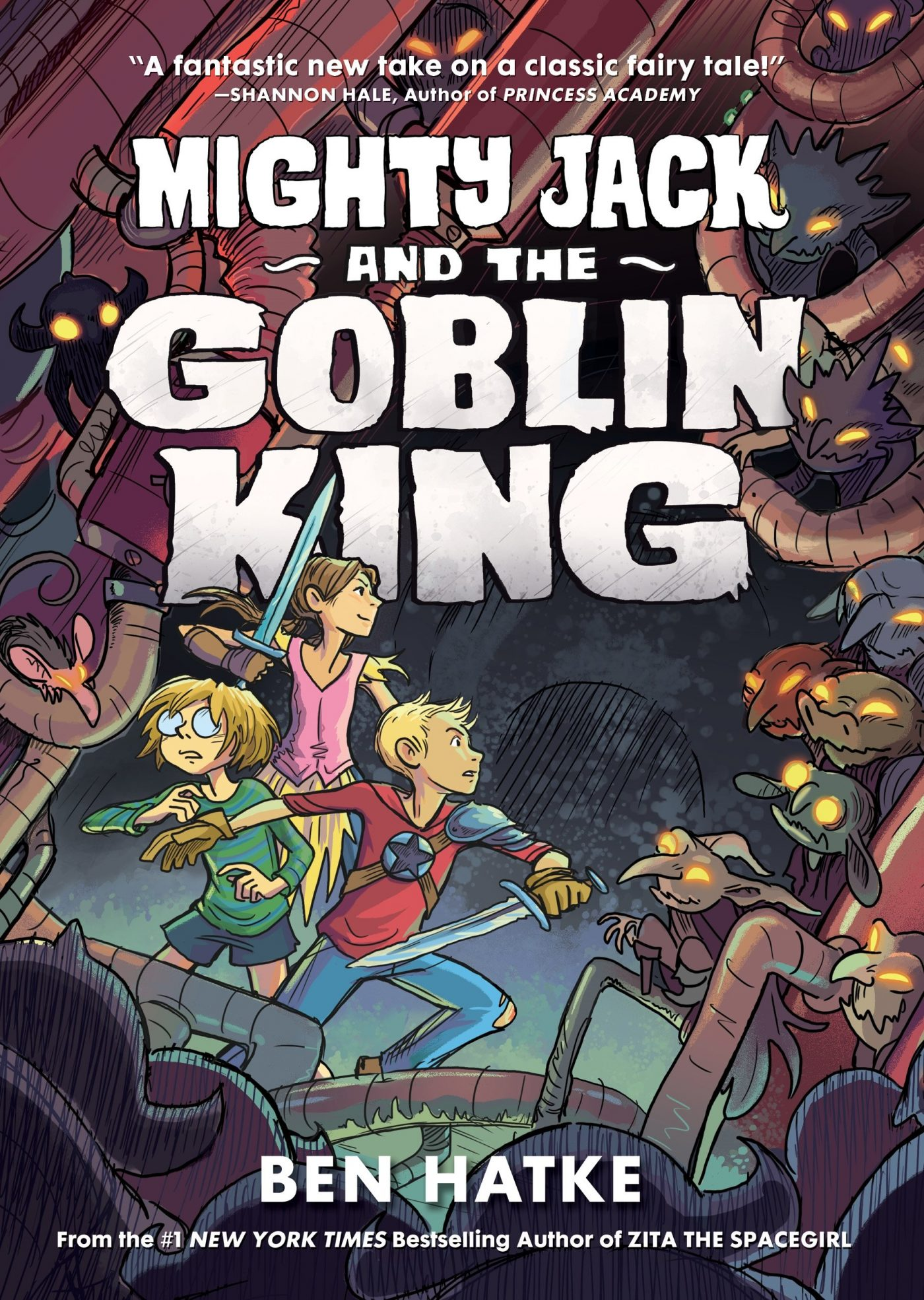 'Mighty Jack and the Goblin King' review: Jack and the Beanstalk meets Henson's Labyrinth