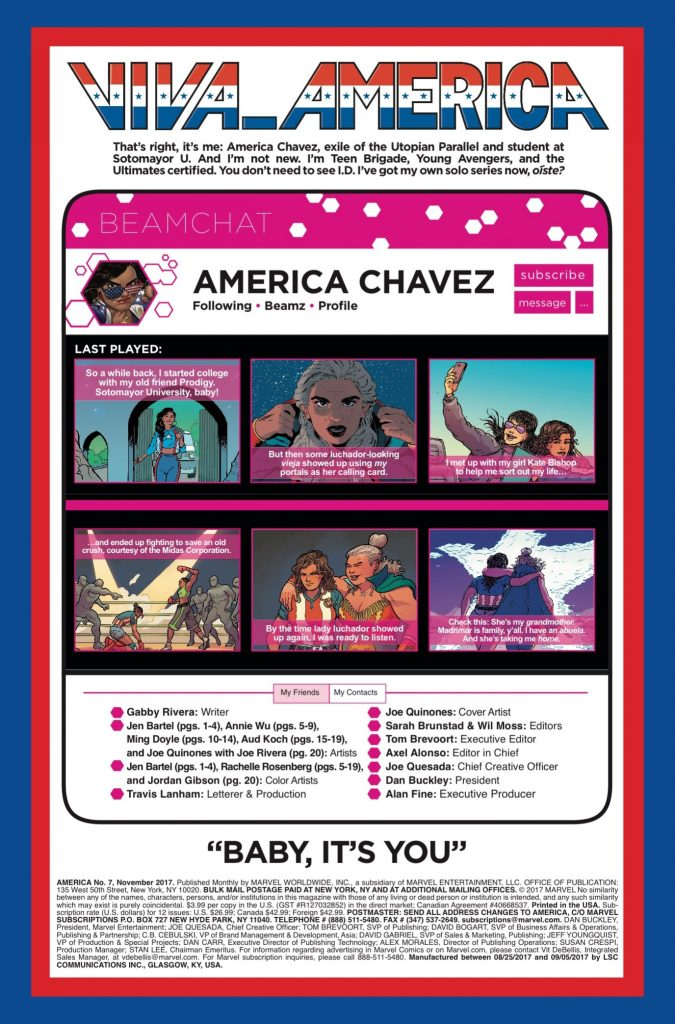 Marvel Preview: America #7