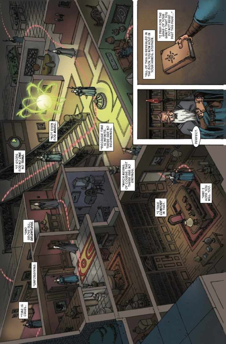 Marvel Preview: Doctor Strange and the Sorcerers Supreme #12
