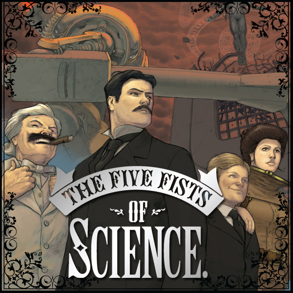 'Five Fists of Science' review: blinded by steampunk badassery!