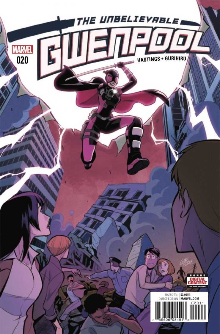 Marvel Preview: The Unbelievable Gwenpool #20