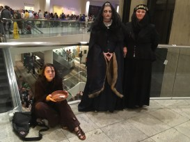 Beggar Arya and others from Game of Thrones