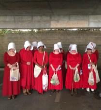 Handmaids from The Handmaid's Tale