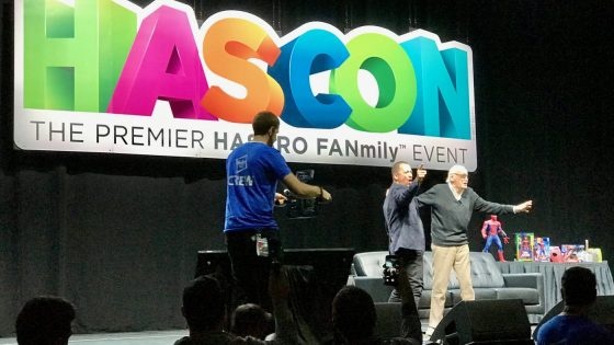 A recap of Stan Lee's September 8 panel at HASCON 2017.
