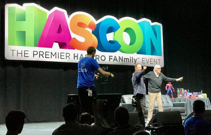 HASCON 2017: Stan Lee on Black Panther, Inhumans, Steve Ditko, Mike Tyson and more