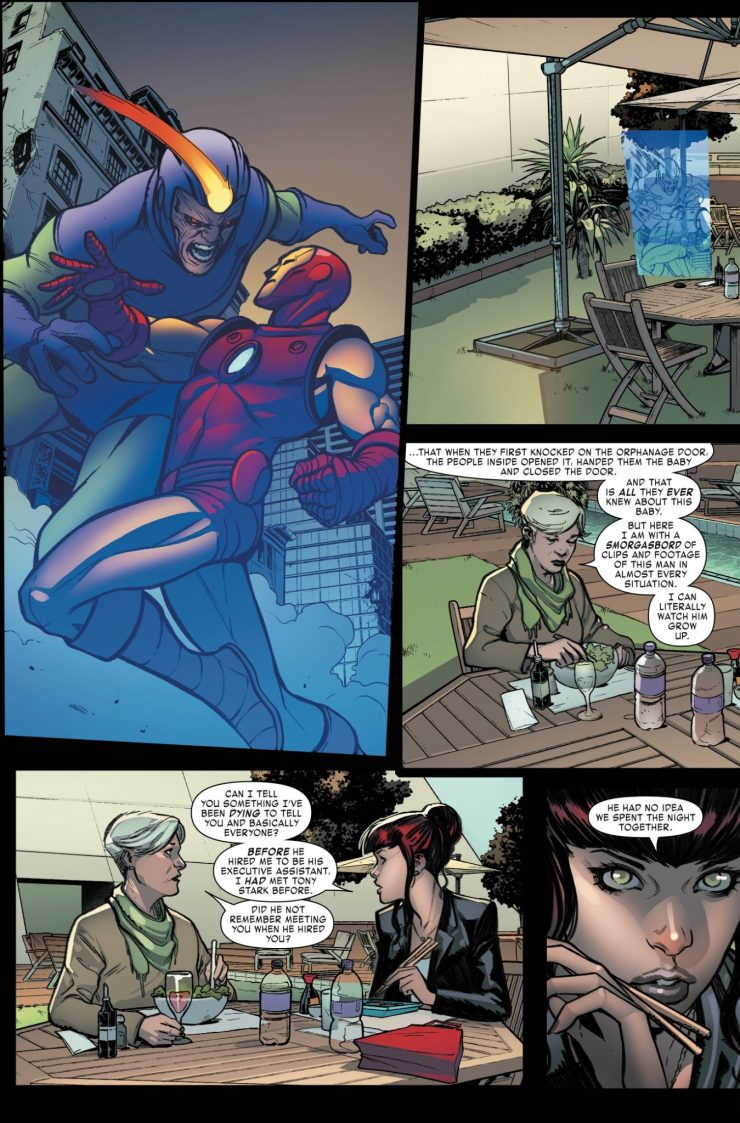 Marvel Preview: Invincible Iron Man #11